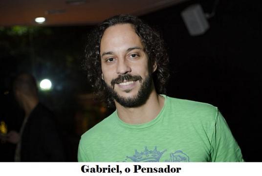 Gabriel, o Pensador cantor foi chamado por nome errado