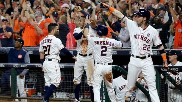 Los Astros quieren llegar a su primera Serie Mundial desde 2005. Sporting News.com.