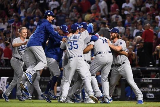 Los Dodgers son los amplios favoritos para ganar la Serie Mundial 2017. International Business Time.com.