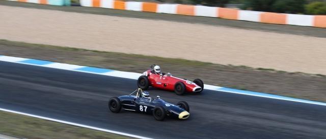 FIA Lurani Torphy em ação no Estoril