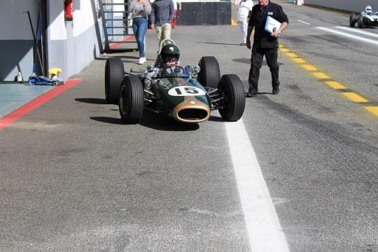 James King, o vencedor da 1ª corrida dos F1 pré-1966