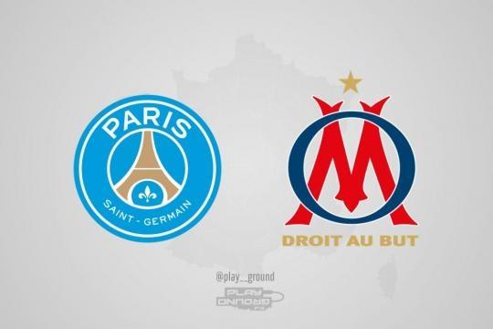 Logos rivaux Ligue 1 PSG OM - Tuxboard - tuxboard.com