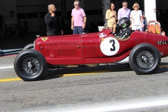 Um clássico de 1934, o Alfa Romeo P3