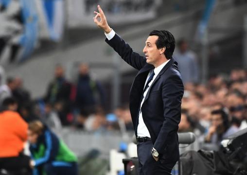 Emery n'arrive pas à gérer ses brésiliens (AFP).