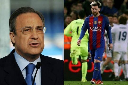 Florentino reconoce su gran frustración con Messi - futbolentrelineas.net