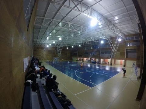 Gimnasio INSUCO, recinto donde se disputaran las semifinales