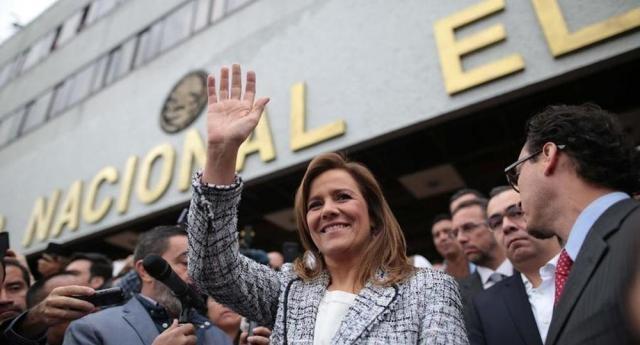 Margarita Zavala va a la cabeza