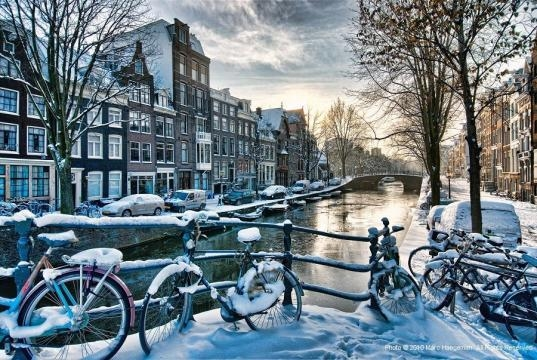 Winter in Amsterdam #6 | Amsterdam HDR of 5 RAWs. See on bla… | Flickr - flickr.com