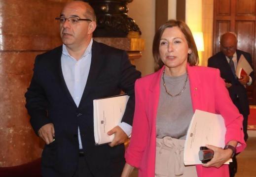 Referéndum Cataluña 1-O: En vivo: la Mesa del Parlament aprueba la ... - elmundo.es