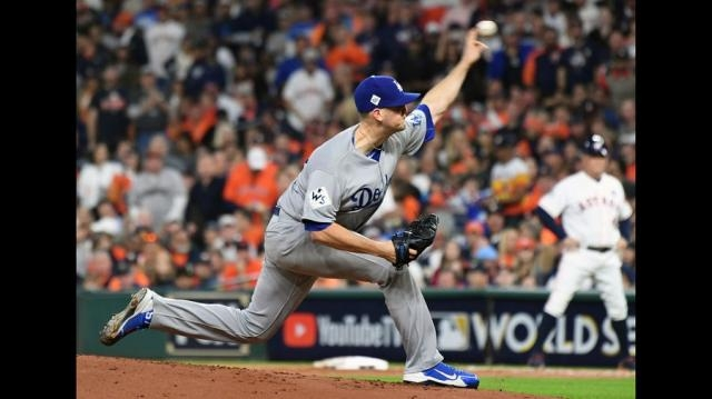 Alex Wood tuvo una eficiente apertura pero los Astros lo hicieron trabajo de más en los primeros innings. lastimes.com.