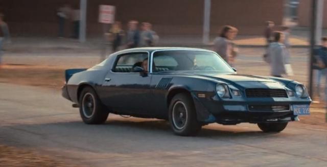 Une autre belle voiture américaine, une chevrolet Camaro