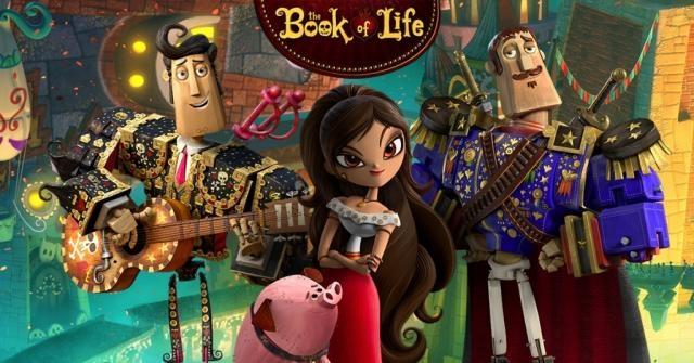 Una producción de Guillermo del Toro: El Libro de la Vida - cafeycabaret.com