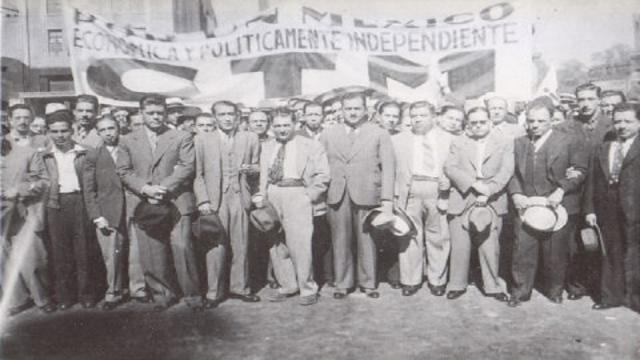 La fundación de la CTM el 24 de febrero de 1936. (Vía Google- Imágenes)