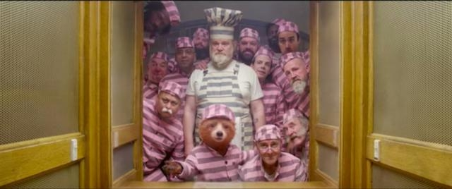 Paddington (Ben Whishaw) finds himself in jail with Knuckles McGinty (Brendan Gleeson)-Youtube/StudiocanalUK
