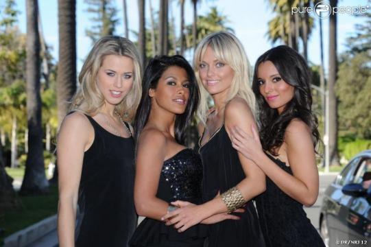 Chloé, Ayem, Caroline et Sandra dans Hollywood Girls (scripted ... - purepeople.com