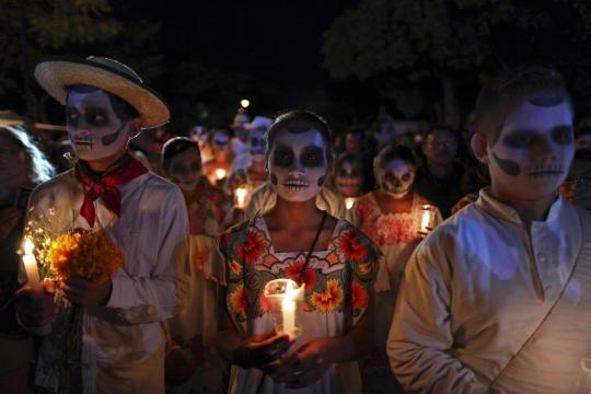 El colorido Festival de las Calaveras.