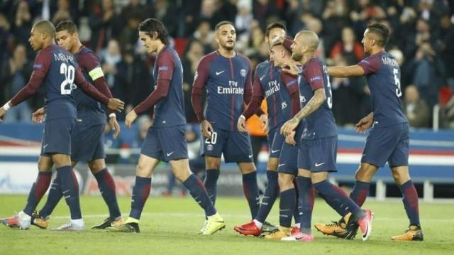 Hier soir le PSG a brillé face à Anderlect (MaxPPP)