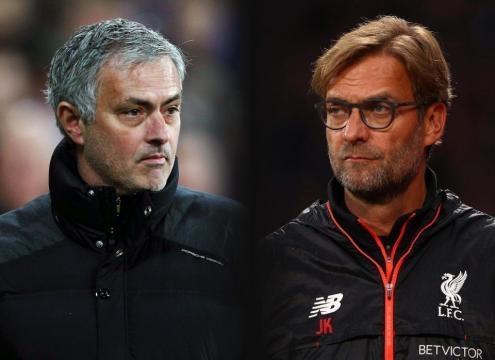 Jose Mourinho's squad will beat Jurgen Klopp's floundering fold on Saturday... pic - thesun.co.uk