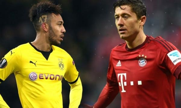 Robert Lewandowski and Pierre-Emerick Aubameyang in Goal Race - talkingbaws.com