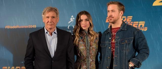 Así fue la premiere de 'Blade Runner 2049' con Harrison Ford, Ryan Gosling y Ana de Armas