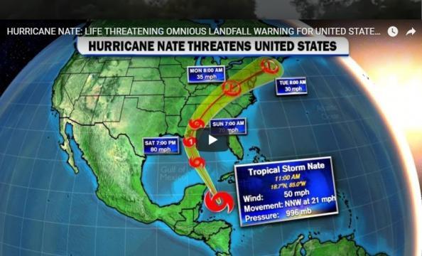 Hurricane Nate a life threatening storm - Cinema of Gaming   YouTube