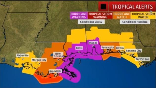 Hurricane NATE Warnings! Major Hurricane Potential as NATE will