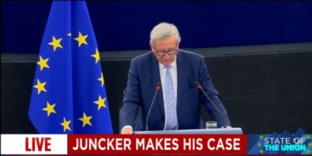 Juncker's State of the Union address -Image - euronews (in English)   YouTube