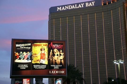 Mandalay Bay Hotel in Las Vegas (Image credit Hermann Luyken/Wikimedia Commons]