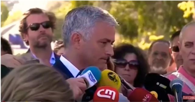 Jose Mourinho Exclusive Press Interview After Road Named After Him In Setubal -Image -MUFC Latest  Youtube