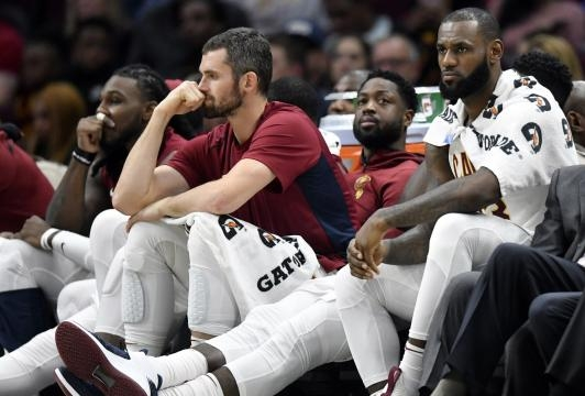 Cleveland Cavaliers are tired of losing.