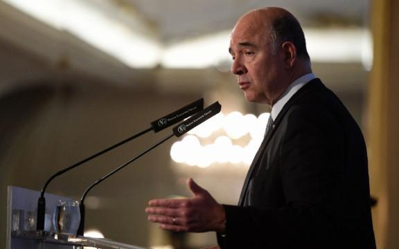 Moscovici est commissaire européen, il touche 25 000 euros par mois