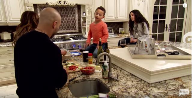 Joe and Melissa Gorga talk old fashioned Italian values with their children - Youtube/Bravotv
