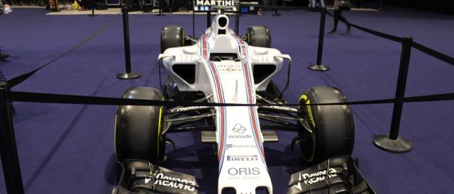 O Williams F1 em exposição no Web Summit