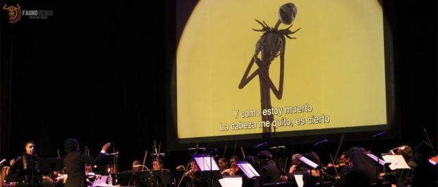 Arts Orquesta musicalizó el Extraño Mundo de Jack. Fotografías de Víctor Mar.