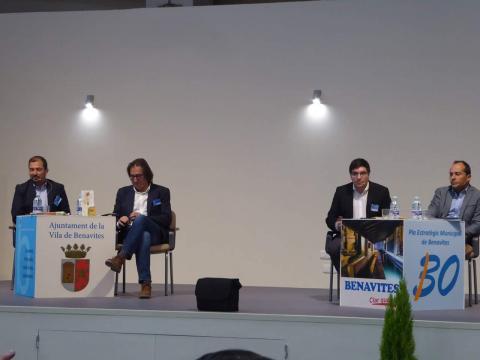 Pere Valenciano, José Vicente Anaya, José María Martí y Jesús González (de izquierda a derecha)