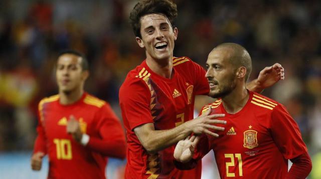 David Silva: dos goles y gran actuación en la goleada española ante Costa Rica rumbo a Rusia 2018 (Foto: www.elpais.com)