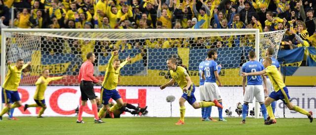 Il gol fortunoso che ha permesso alla Svezia di superare l'Italia alla Friends Arena