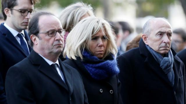 L'hommage de Macron aux victimes du 13-novembre - lanouvellerepublique.fr