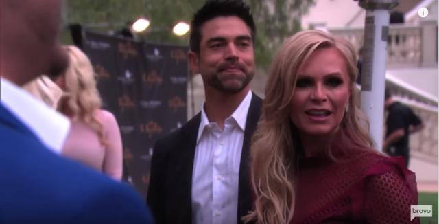 Tamra and Eddie Judge, a happy couple - [Image via YouTube/Bravotv]