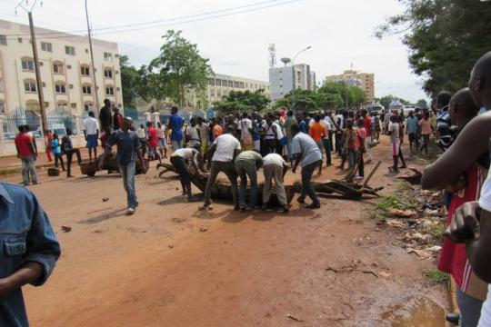 violences mortelles à Bangui pendant la visite de Le Drian - atlasinfo.fr