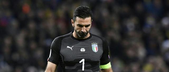 Grande amarezza per il capitano azzurro Gigi Buffon che ha giocato la sua ultima partita in Nazionale