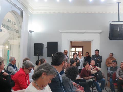 La audiencia en la DEH del INAH