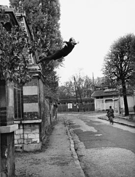 Leap to the void, Yves Klein, 1960