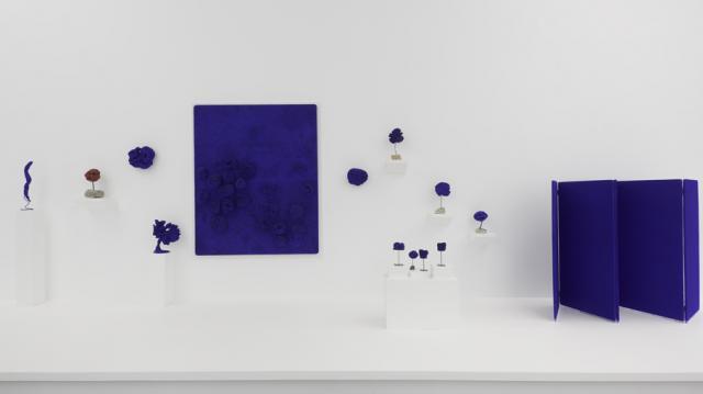 Yves Klein, Experimentando con los materiales y el azul, 2017