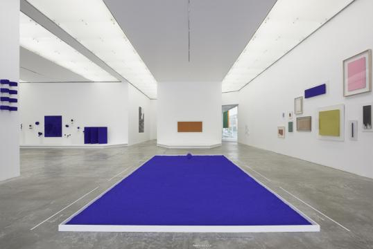 Yves Klein, Museo Universitario de Arte Contemporáneo, 2017