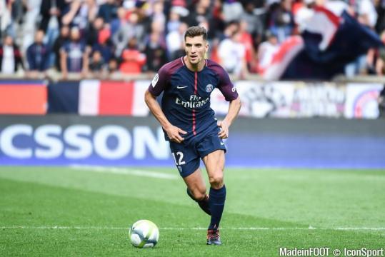 Le PSG a retenu Meunier - madeinfoot.com