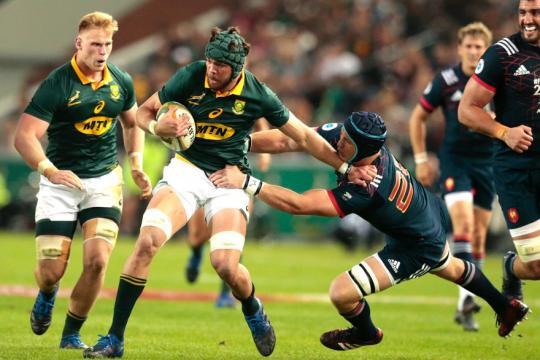 Rugby - Afrique du Sud-France : les Bleus n'y arrivent toujours pas - rtl.fr