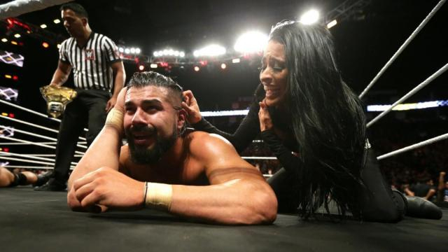 Almas es el primer mexicano en ganar el título completo de NXT. WWE.com.