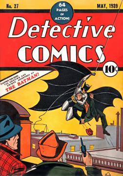 Image 1: La première apparition de Batman
