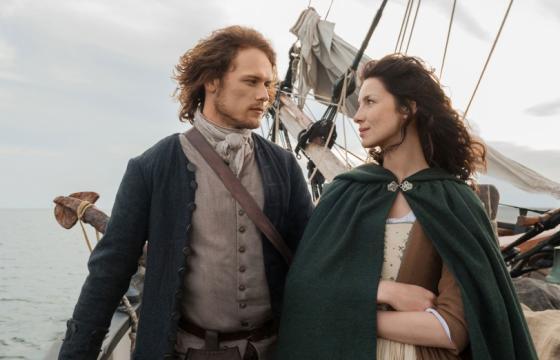 A história de Jamie e Claire tem apaixonado os espectadores